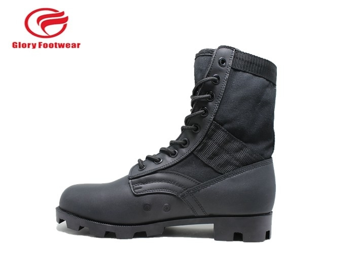 oxford Leather Military Combat Boots , high top hunting army surplus jungle boots